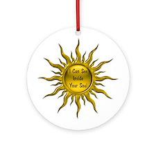 Seer Ornament (Round)