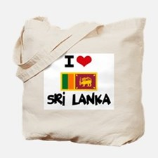 I HEART SRI LANKA FLAG Tote Bag