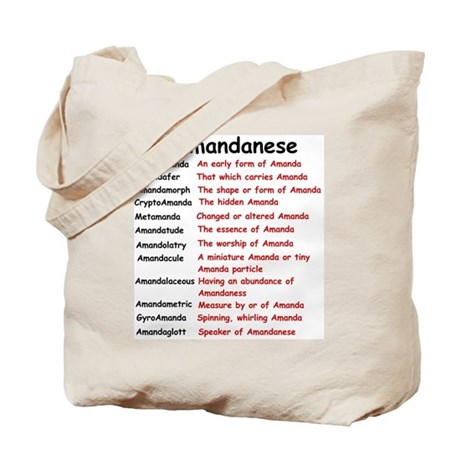 Amandanese Tote Bag