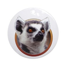 Lemur Ornament (Round)