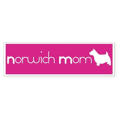 Norwich Mom Bumper Sticker