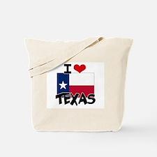 I HEART TEXAS FLAG Tote Bag