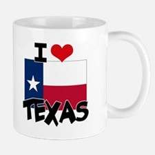 I HEART TEXAS FLAG Mug
