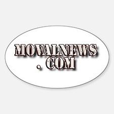 MOVALNEWS.COM Oval Decal