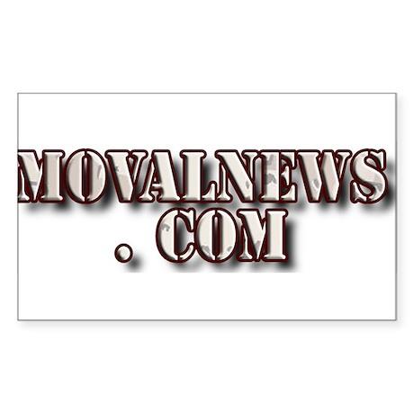 MOVALNEWS.COM Rectangle Sticker