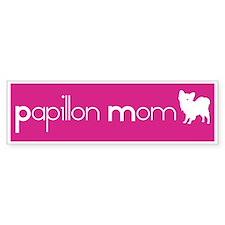 Papillon Mom Bumper Bumper Sticker