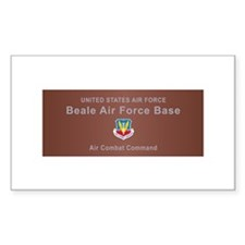 Beale Air Force Base Decal