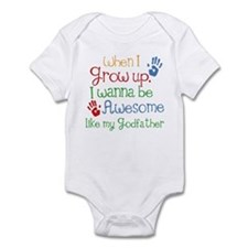 Awesome Godfather Infant Bodysuit