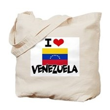 I HEART VENEZUELA FLAG Tote Bag
