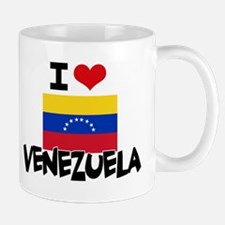 I HEART VENEZUELA FLAG Mug