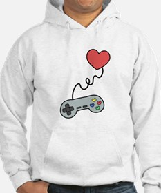 Don't play with my heart via game controller Hoodi