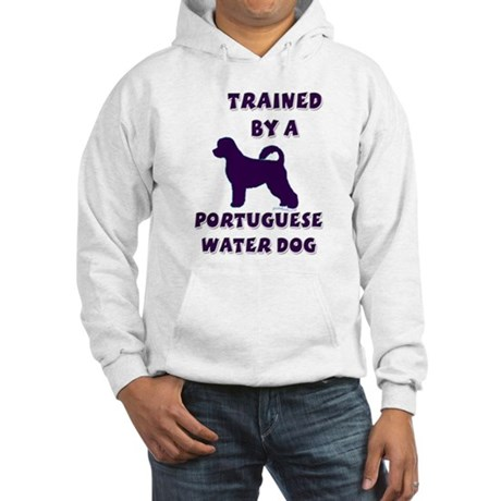 Portie Purple Hooded Sweatshirt