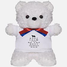 Keep Calm Bernese Mountain Designs Teddy Bear