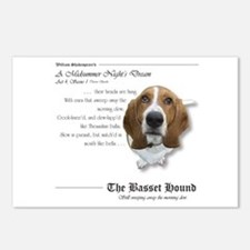 Shakespeare Basset Quote Postcards (Package of 8)