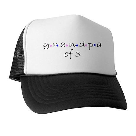 grandpa of 3 Trucker Hat