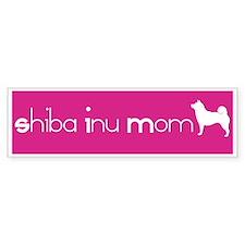 Shiba Inu Mom Bumper Bumper Sticker