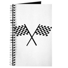 Racing Checkered Flags Journal