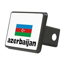 I HEART AZERBAIJAN FLAG Hitch Cover