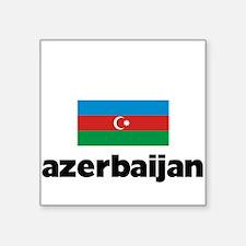 I HEART AZERBAIJAN FLAG Sticker