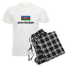 I HEART AZERBAIJAN FLAG Pajamas