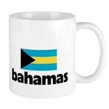I HEART BAHAMAS FLAG Small Mug