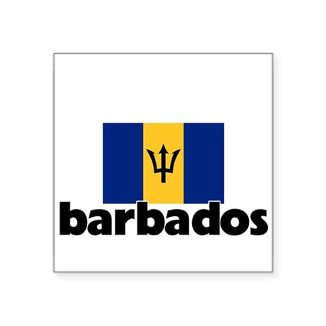 I heart barbados flag sticker by listing store 10501932 for Barbados flag coloring page
