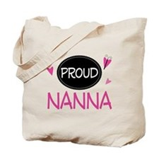 Proud Nanna Tote Bag