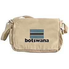 I HEART BOTSWANA FLAG Messenger Bag