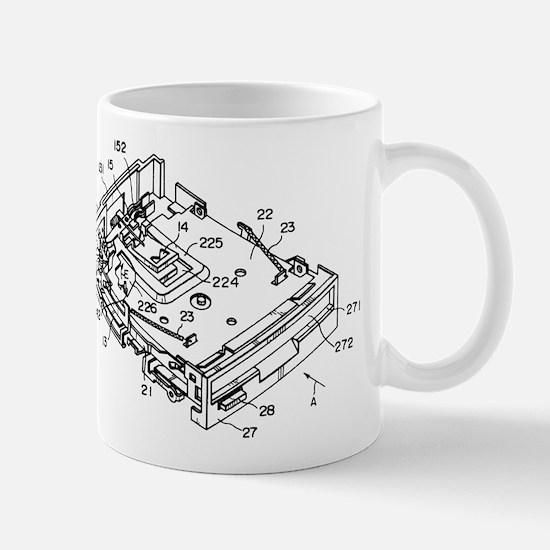 Cute Blueprint Mug