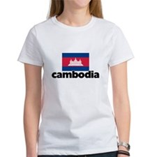 I HEART CAMBODIA FLAG T-Shirt