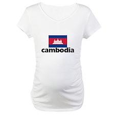 I HEART CAMBODIA FLAG Shirt