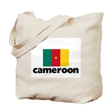 I HEART CAMEROON FLAG Tote Bag