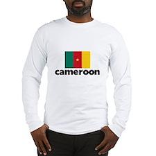I HEART CAMEROON FLAG Long Sleeve T-Shirt