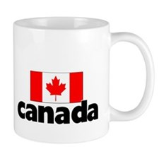 I HEART CANADA FLAG Mug