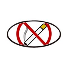 No Smoking Sign Patches