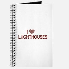 I Love Lighthouses Journal