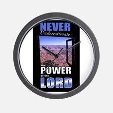 The Power of the Lord Wall Clock