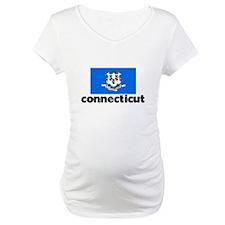 I HEART CONNECTICUT FLAG Shirt