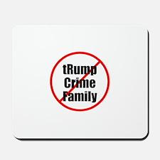 lock up trump crime family Mousepad