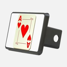 Ace of Hearts Playing Card Hitch Cover