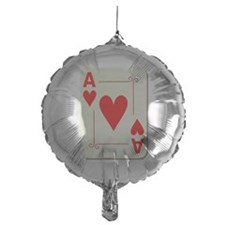 Ace of Hearts Playing Card Balloon