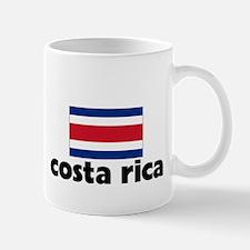 I HEART costa rica FLAG Mug