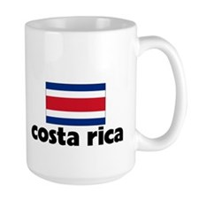 I HEART costa rica FLAG Mug