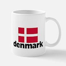 I HEART DENMARK FLAG Mug