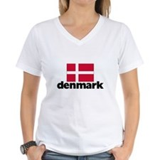 I HEART DENMARK FLAG T-Shirt
