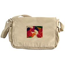 Retro Candy Jellybean Photograph Messenger Bag