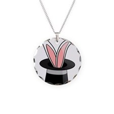 Rabbit In Magician Hat Necklace