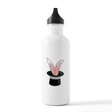 Rabbit In Magician Hat Water Bottle