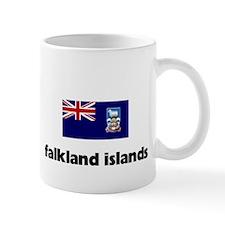 I HEART FALKLAND ISLANDS FLAG Mug