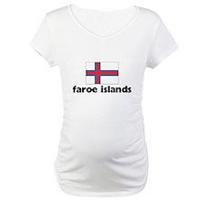 I HEART FAROE ISLANDS FLAG Shirt
